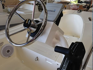 Rigid boat accessories